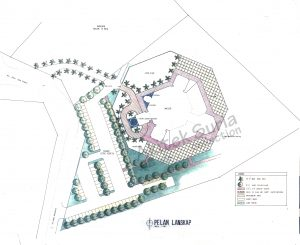 Site Plan : After renovation & extension
