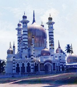 Ubudiah Mosque before extension